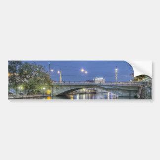 Pont DE La Coulouvreniere Genève Zwitserland Bumpersticker
