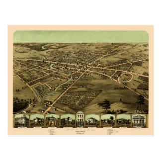 Pontiac Michigan 1867 Briefkaart