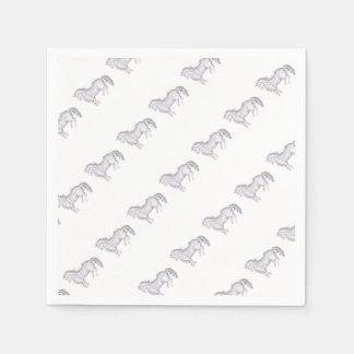 Pony Papieren Servet