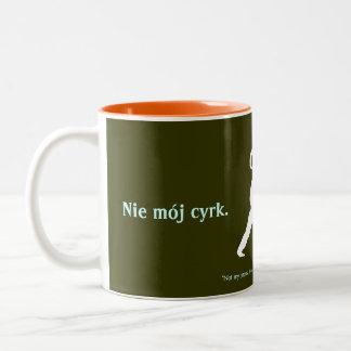 Pools Gezegde Tweekleurige Koffiemok