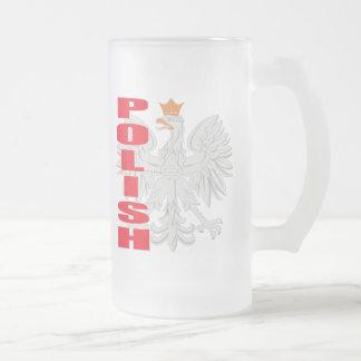 Poolse Eagle Berijpte Mok