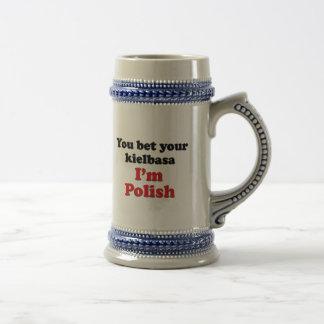 Poolse Kielbasa 2 Kanten Bierpul