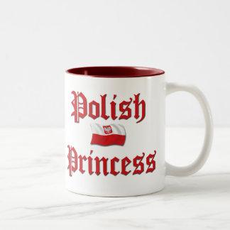 Poolse Prinses Tweekleurige Koffiemok