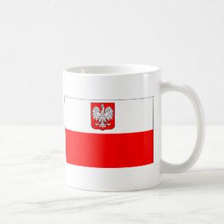 Poolse Vlag met Eagle Koffiemok