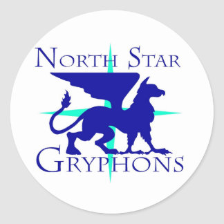 Poolster Gryphons om Sticker