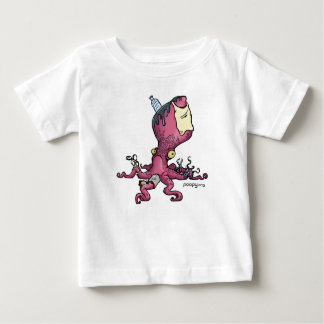 poopy octopuskind baby t shirts