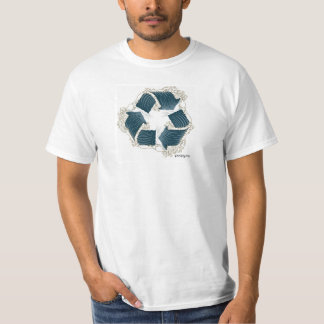 poopy recyclene golft-shirt t shirt