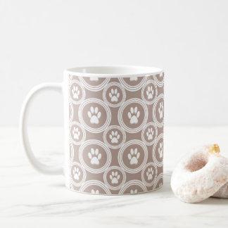 Poot-voor-koffie Mok (Taupe)
