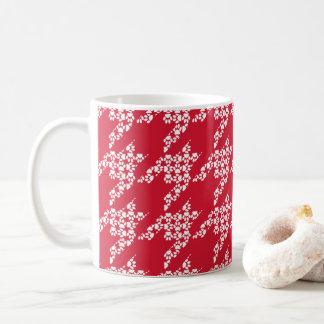Poot-voor-koffie (Rood/Witte) Mok