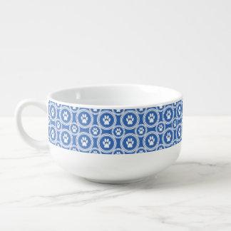 Poot-voor-soep (Blauwe) Mok