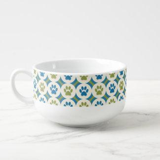 Poot-voor-soep Mok (Olijf/Wintertaling)
