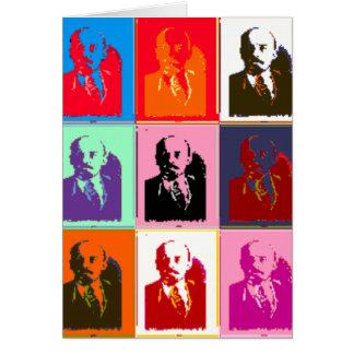 Pop-art Lenin Briefkaarten 0