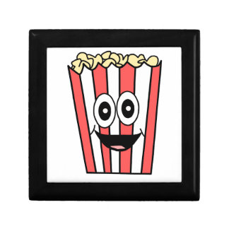 popcorn het glimlachen decoratiedoosje