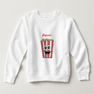 popcorn het glimlachen kinder fleece