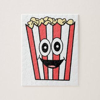 popcorn het glimlachen legpuzzel
