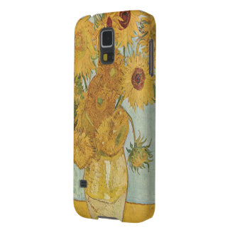 Popular Van Gogh Sunflowers Druk Galaxy S5 Hoesje