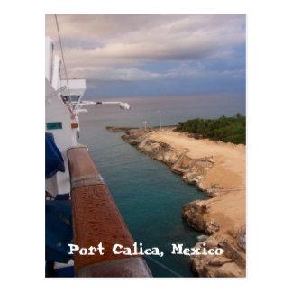 portcalicamexico, Haven Calica, Mexico Briefkaart