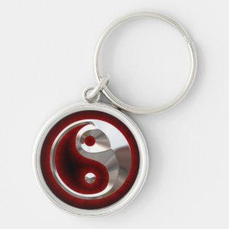 porte clés le ying et le yang sleutelhanger