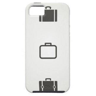 Portefeuille een pictogram tough iPhone 5 hoesje