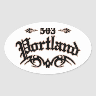Portland 503 ovale sticker