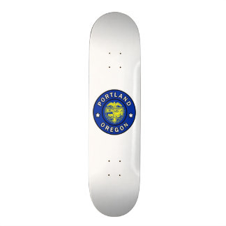 Portland Oregon 21,6 Cm Old School Skateboard Deck