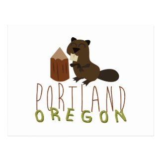 Portland Oregon Briefkaart