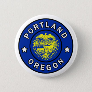 Portland Oregon Ronde Button 5,7 Cm