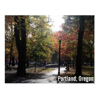 Portland van de binnenstad, PSU Parkblocks Briefkaart