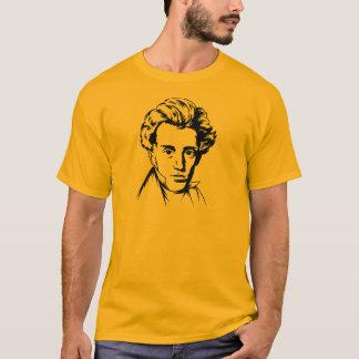 Portra van de de filosofieexistentialist van Soren T Shirt