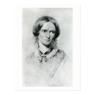 Portret Charlotte Brontë door George Richmond Briefkaart