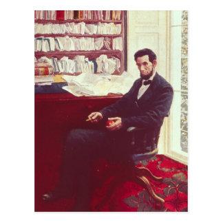 Portret van Abraham Lincoln Briefkaart