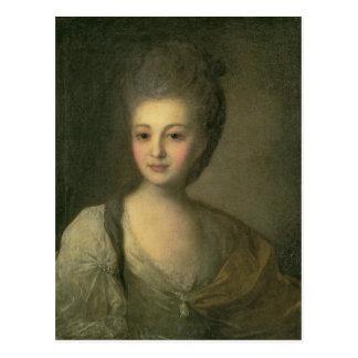 Portret van Aleksandra P. Struyskaya 1772 Briefkaart