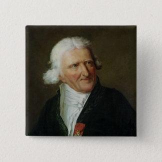 Portret van Antoine Augustin Parmentier Vierkante Button 5,1 Cm