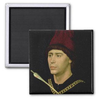 Portret van Antoine bastaard van Bourgondië Magneet