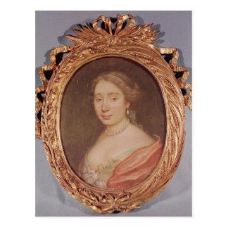 Portret van Armande Bejart Briefkaart