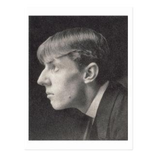 Portret van Aubrey Beardsley (1872-98) door Briefkaart