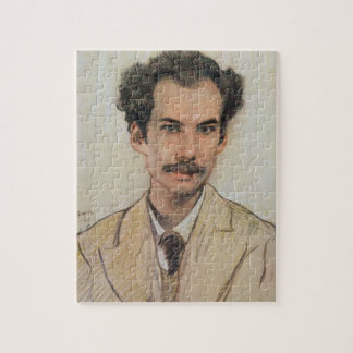 Portret van Boris Nikolayevich Bugaev (1880-1934) Foto Puzzels