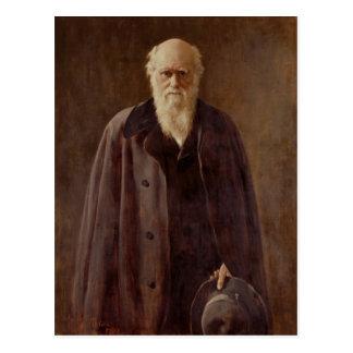 Portret van Charles Darwin 1883 Briefkaart