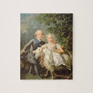 Portret van Charles Philippe van Frankrijk (1757-1 Puzzels