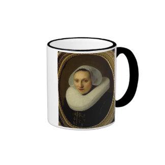 Portret van Cornelia Pronck, Vrouw van Albert Cuyp Koffie Beker