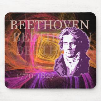 Portret van de Componist van Ludwig van Beethoven Muismat