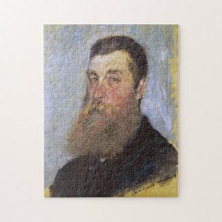Portret van de Engelse Boete van Bordighera Monet Puzzel