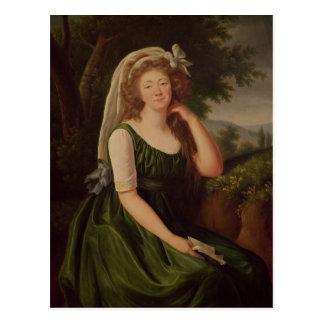 Portret van de Gravin du Barry 1789 Briefkaart