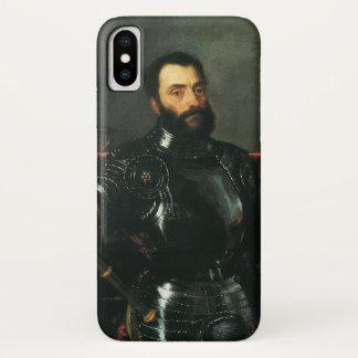 Portret van de Hertog van Urbino door Titian iPhone X Hoesje