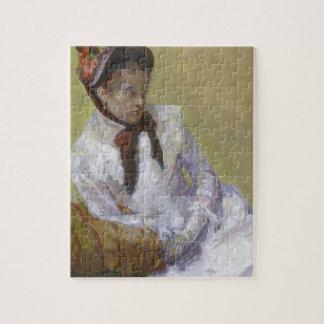 Portret van de Kunstenaar - Mary Cassatt Foto Puzzels