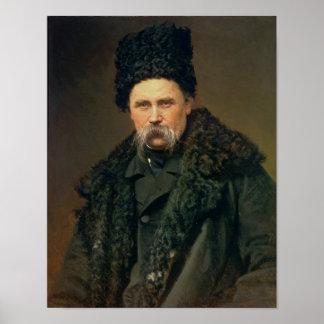 Portret van de Oekraïense Auteur Poster