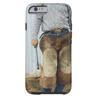 Portret van de Smid van de Cowboy Tough iPhone 6 Hoesje
