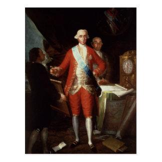 Portret van Don Jose Monino y Redondo I Briefkaart