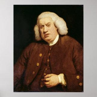 Portret van Dr. Samuel Johnson Poster