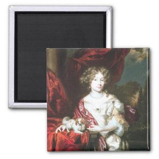 Portret van een Dame, 1677 Magneet